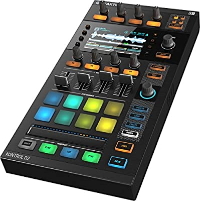 TRAKTOR Kontrol D2 Stems-kompatibles DJ-Deck