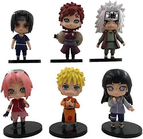 gengxinxin Die Dritte Generation des Naruto-garagenbausatzes Gaara Tsutsuki Hagoromo Uzumaki Naruto Uchiha Sasuke Uchiha Itachi Uchiha Tischplattendekoration Sammlungen