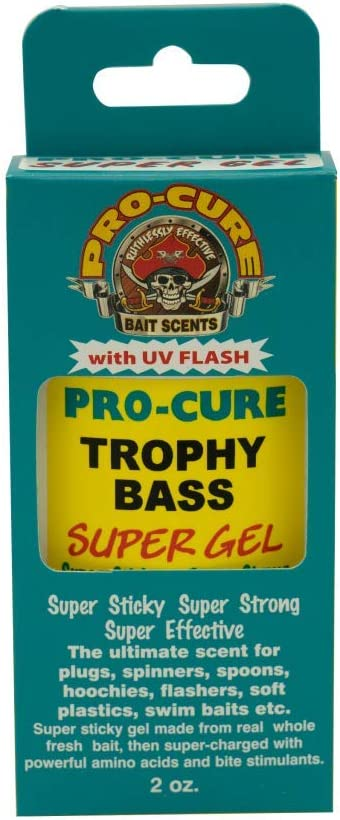 Pro-Cure Trophy Bass Super Gel, 2 Ounce : Artificial Fishing Bait : Sports & Outdoors