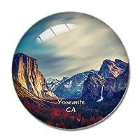 ヨセミテ国立公園グレイシャーポイントカリフォルニア米国冷蔵庫マグネットホワイトボードマグネットオフィスキッチンデコレーション