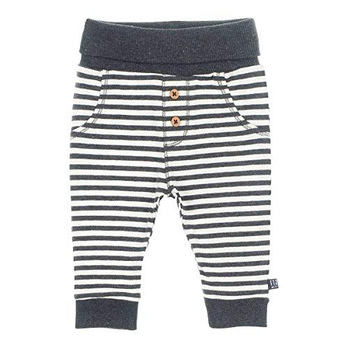 Feetje Pantalon de Jogging rayé, Anthracite/Blanc