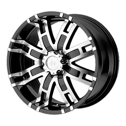 HELO HE835 GLOSS BLACK MACHINED HE835 20x9 6x139.70 GLOSS BLACK MACHINED (18 mm) Wheel -  HE83529068318