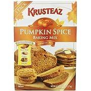 Krusteaz Pumpkin Spice Baking Mix (3ways to enjoy - Quick Bread, Cookies, or Pancakes) 45oz