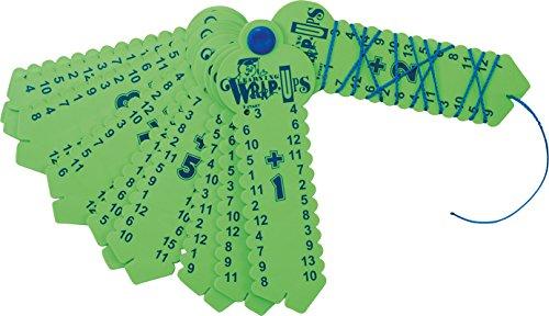EDUPLAY 120478 Rechenfächer, Kunststoff, Plus + , Farblich Sortiert, 1 Stück