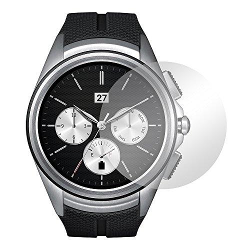Slabo 2 x Bildschirmschutzfolie für LG Watch Urbane 2nd Edition Bildschirmschutz Schutzfolie Folie Crystal Clear KLAR