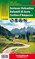 Sesto Dolomites - Cortina d'Ampezzo Hiking + Leisure Map 1:50 000 (Hiking Maps of the South Tyrol)