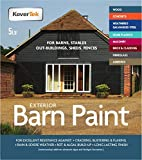 Slate Grey 5lt Exterior Paint & Primer in One, TekTor Barn Paint, Professional Paint for Timber Barns, Masonry, Stables, Sheds, Fences, Field Shelters & More (Contains Anti-fungal Agents)