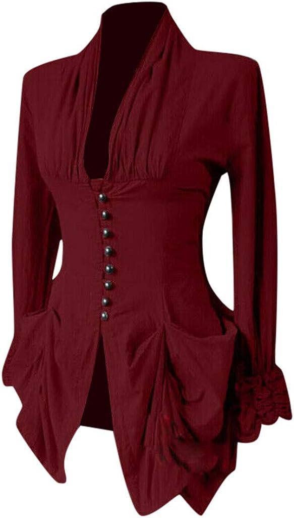 Max 44% OFF favorite Bidobibo Womens Renaissance Gothic Blouse Me Sleeves Bell