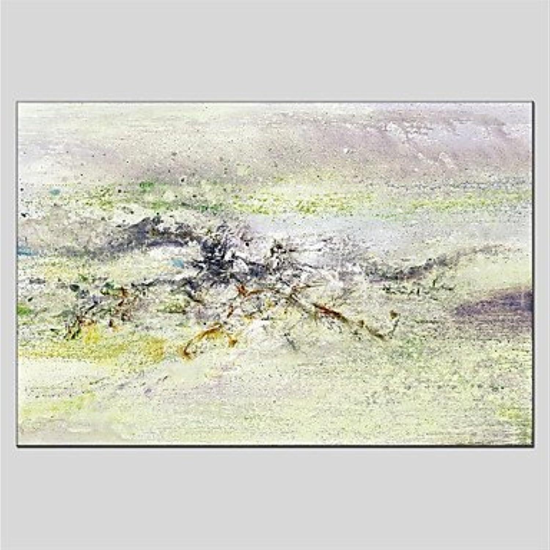 Ltq & & & Qing (NEU)-handgemalt abstrakte Horizontal Panorama, Abstrakt Leinwand Öl Gemälde Home Dekoration One Panel, 24  x 36  B07CWN8Y67 | Mode-Muster  a74d5f