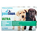 Rite Aid Pawtown Puppy Pads, Ultra Absorbent - 32 Count   Pee Pads for Dogs