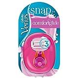 Gillette Venus Snap ComfortGlide Spa Breeze - Maquinilla de afeitar para mujer con almohadilla de gel móvil