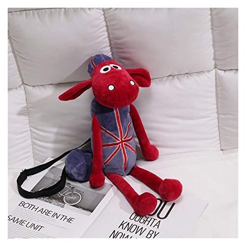 Los animales de peluche y juguetes de peluche peluche juguetes de peluche de dibujos animados 2020 Mochila nuevo japonés feo muñeco de peluche bolsa de red Red de cordero de la muñeca de la bolsa de m