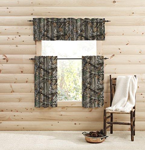 "Realtree Edge Window 36 inches Tier Pair, 36"" Lx39 W, Multicolor"