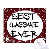 これまでに最高のclassmater卒業シーズン オフィス用雪ゴムマウスパッド