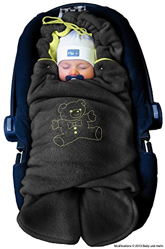ByBoom Baby Couverture Enveloppante Hiver Universelle Multi-Usages, pour Coques...