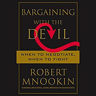 Bargaining with the Devil audiobook cover art