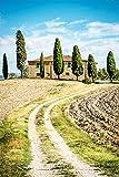 Poster selbstklebend | Toskana - Italien | in 65x100 cm |