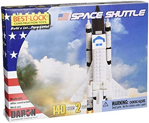 ofrecemos varias marcas famosas Space Shuttle 140 Piece Best Lock Lock Lock Construction Toy with Action Figure by Daron  70% de descuento
