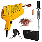 DENTPULLER 110V Stud Welder Kit 1600A for Auto Body Repair with a Case,Yellow