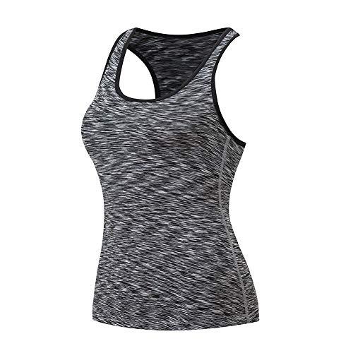 SUNNYCOOL Canotta Da Allenamento Canotta Yoga Racerback Activewear Per Donna