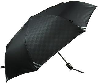 紳士傘 折り畳み傘 ワンタッチ自動開閉 ビジネス傘 晴雨兼用 梅雨必需品 Teflon加工 丈夫な8本骨 紫外線カット2色 (紺碧 ブラック)
