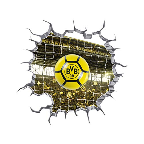 BVB-LED-Ballleuchte mit Wandtattoo one size