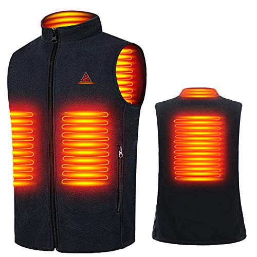 Bemega 電熱ベスト 電熱ジャケット USB加熱 3段階温度調整 防寒 ヒートベスト 水洗い可能 男女兼用 日本語...
