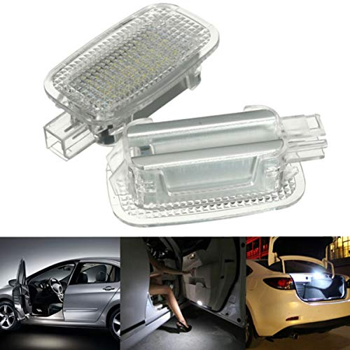 GOFORJUMP 2X LED Car Door Courtesy Bagagli Footwell Luci Ombra per M/ercedes B/Energ W204 W216 W217 W221 R230 C197 W212 W169 Canbus