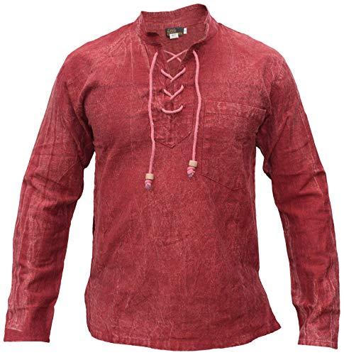 La chemise pour homme à lacets de style médiéval