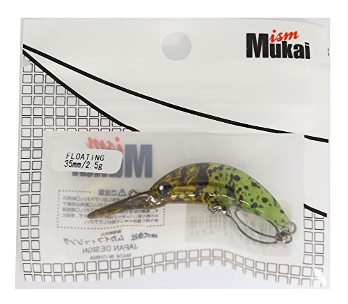 ムカイ(Mukai) クランクベイト ザンム35 IDO 35mm 2.5g Wイエロー Combo5 ルアー