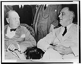 Infinite Photographs Photo: Winston Churchill, President Franklin D. Roosevelt, 1942 Size: 8x10 (Approximately)