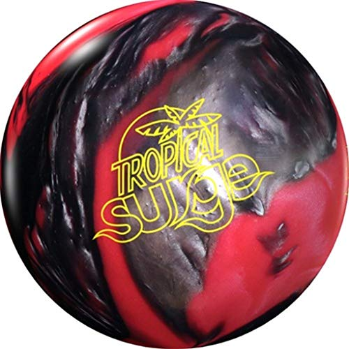 Storm Unisex's Tropical Surge PRE-DRILLED Bowling Ball-Pink/Black 15lbs