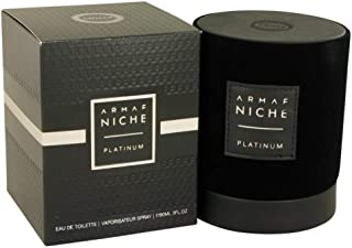 Armaf Niche Platinum by Armaf Eau De Toilette Spray 3 oz / 90 ml (Men)