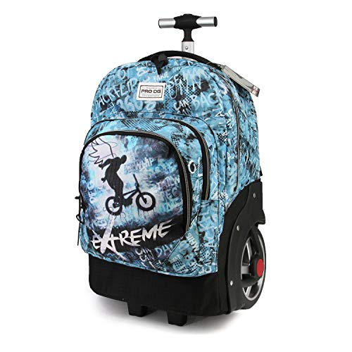 PRODG PRODG Extreme-GTX Travel Trolley-Rucksack Mochila Tipo Casual 53 Centimeters 59.5 Multicolor (Multicolour)