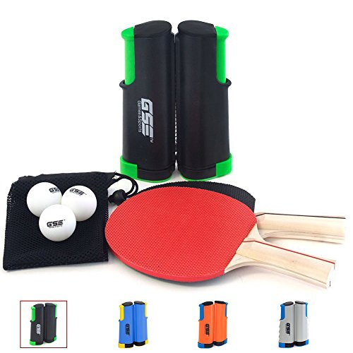 Learn More About GSE Games & Sports Expert Anywhere Portable Ping Pong Table Tennis Set to Go - Incl...