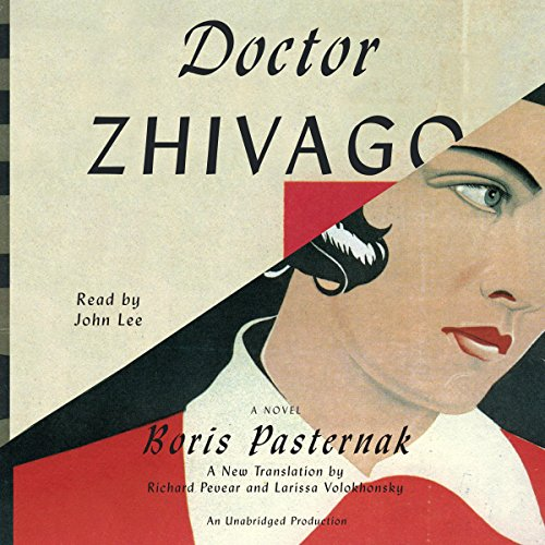 Doctor Zhivago audiobook cover art