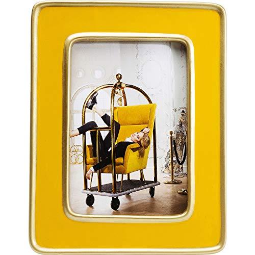 Kare Design Zebra Rahmen, yellow