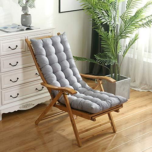JONJUMP Cojín de silla mecedora universal largo para silla de playa y sofá