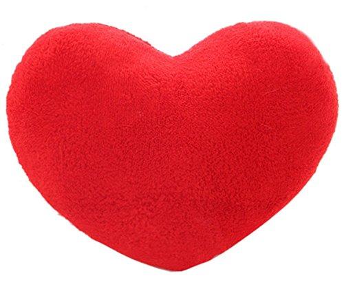 Kika Singe Coussin en forme de cœur en peluche Couvre-lit Taie d'oreiller