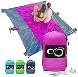Sand Free Beach Blanket- 7 Person 9' x 10'...