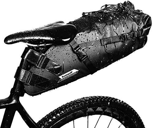 GARDOM Bolsa de Sillín Bici 1.5L /10L - Bolsa Bicicleta Impermeable Ajustable para Ciclismo | MTB | Bici Carretera (10L)