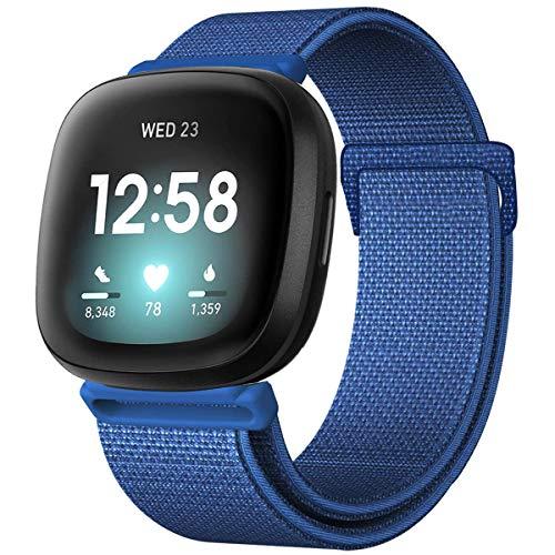 ANNYOO Kompatibel für Fitbit Versa 3 Armband Damen Herren