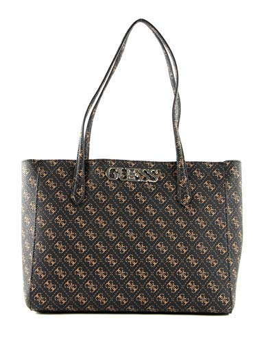 Guess Uptown Chic Elite Tote Brown