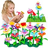 Flower Building Deluxe Set: Well crafted and colorful. And it brings the different flower parts, the stems and the branch pieces. It keeps little ones absorbed for hours! What's more? Includes one 14 x 10 stud building base plate which is compatible ...