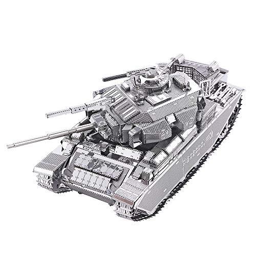 Piececool Puzles 3D de metal para adultos – Centurion Afv – Maqueta de metal para adultos