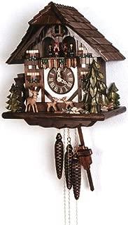 August Schwer Cuckoo Clock Jumping Deer
