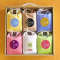 山形のお米食べ比べセット 『こめイロ6』 つや姫 夢ごこち コシヒカリ 等 6品種 450g×6袋 令和元年産