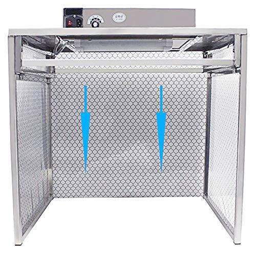 YJINGRUI Sala de trabajo libre de polvo Taller de flujo laminar Campana de flujo de aire Estación de trabajo limpia Banco amplio y limpio