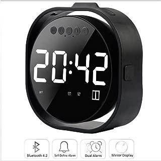QOUP Bluetooth Speaker Receiver Super Bass Portable Enceinte Wireless Speaker for Phone Computer Support TF FM Alarm Clock
