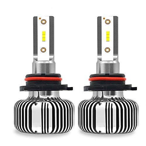 Phares De Voiture LED, 30W 3200LM 6000K Xenon Blanc Extrêmement Lumineux 9005,9006,9012, H1, H7, H11 LED Kit De Conversion De Puce Avancée - 2PCS,9005